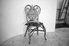典雅的椅子 免版税库存照片