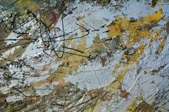 典雅的油画背景 免版税库存图片