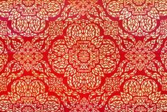 典雅的泰国艺术纹理 库存照片