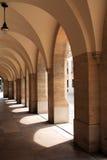 典雅的画廊在中午 库存图片