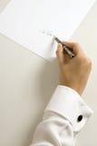 典雅的签名 免版税图库摄影
