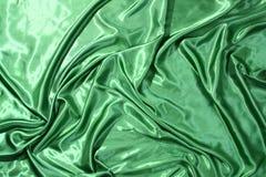 典雅的绿色丝绸 免版税图库摄影