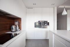 典雅的舒适厨房 图库摄影