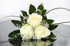 典雅的花玫瑰黄色 库存图片