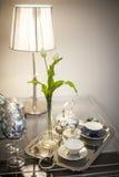 典雅的茶时间 图库摄影