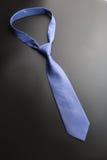 典雅的蓝色领带 免版税库存图片