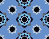 典雅的装饰品几何坛场 免版税库存照片
