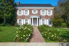 典雅的豪宅在比佛利山 免版税图库摄影
