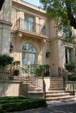 典雅的连栋房屋 免版税库存照片