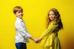 典雅的迷人的孩子 图库摄影