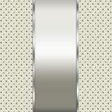 典雅的银和棕色背景 免版税库存照片
