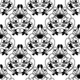 典雅的锦缎白色无缝的传染媒介背景 免版税库存图片
