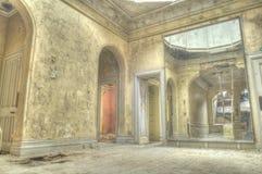 典雅的镜子 库存图片