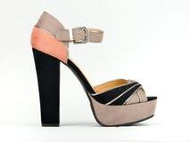 典雅的高跟鞋平台 库存图片