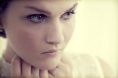 典雅的魅力妇女年轻人 库存图片
