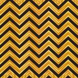 典雅的黑和金子几何无缝的Z形图案 V形臂章样式背景,包装纸,织品样式,墙纸 向量例证