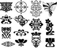 典雅的detailes。 库存图片