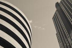 经典高层-美国城市 库存图片