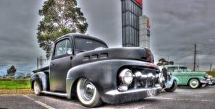 经典20世纪50年代美国人卡车 库存图片