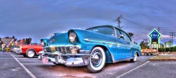 经典20世纪50年代美国人汽车 免版税库存图片