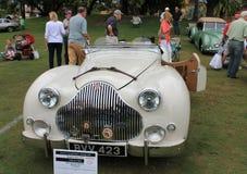 经典20世纪50年代英国sporst汽车 免版税库存照片