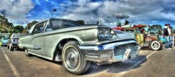 经典20世纪50年代Ford Thunderbird 库存照片
