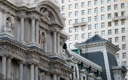 费城建筑学 免版税库存照片