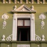 经典建筑风格大厦在布拉索夫,罗马尼亚,特兰西瓦尼亚,欧洲 库存照片