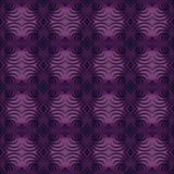 经典紫色装饰品 免版税库存照片