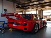 经典BMW 320i e21赛车 库存照片