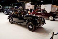 经典BMWs在米兰Autoclassica 2016年 免版税图库摄影