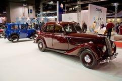经典BMWs在米兰Autoclassica 2016年 库存图片