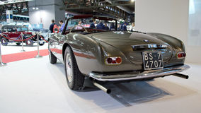 经典BMWs在米兰Autoclassica 2016年 图库摄影