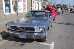 经典Ford Mustang 免版税库存照片