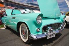 经典Ford Thunderbird汽车 库存照片