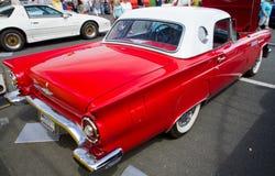 经典Ford Thunderbird汽车 免版税图库摄影