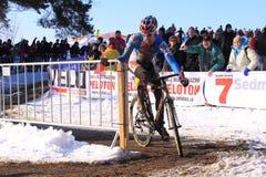 兹德涅克Stybar - cyclocross 图库摄影