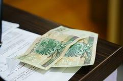 100兹罗提 免版税库存图片