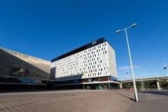 贾兹阿姆斯特丹旅馆的大厦 免版税图库摄影