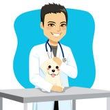 兽医医生Dog 向量例证