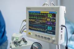 兽医麻醉机器 库存照片