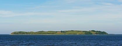 内克瑟尔岛,丹麦 免版税库存照片