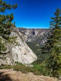 内华达下跌,yoesmite国立公园,美国 库存图片
