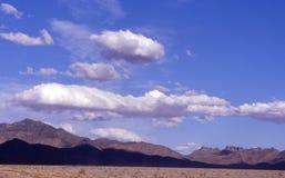 内华达山脉天空 库存图片