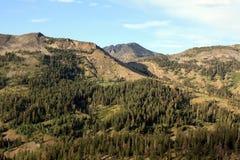 内华达山脉远景 免版税库存照片