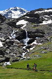 内华达山脉 图库摄影