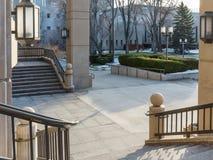 内华达州政府大厦区 免版税库存图片