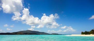 内卡河海岛, BVI, 库存照片