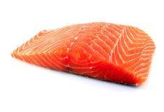 内圆角新鲜的三文鱼 免版税库存图片