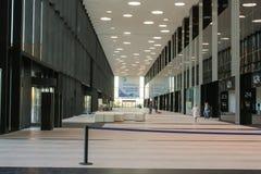 内在大厅ExpoForum 库存图片
